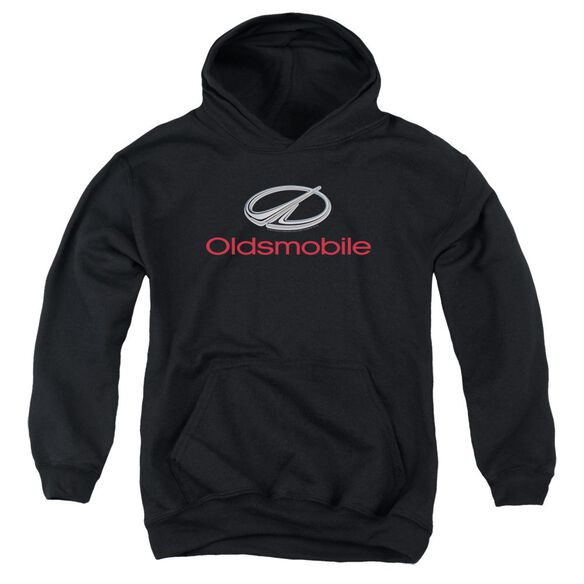 Oldsmobile Modern Logo Youth Pull Over Hoodie