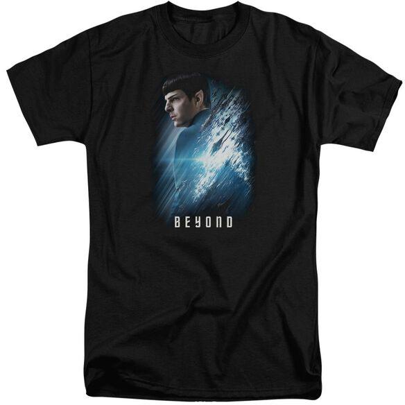 Star Trek Beyond Spock Poster Short Sleeve Adult Tall T-Shirt