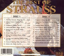 Vienna Volksoper Orchestra - The Best of Strauss (Box Set)