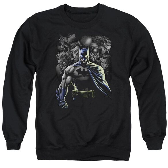 Batman Villains Unleashed Adult Crewneck Sweatshirt