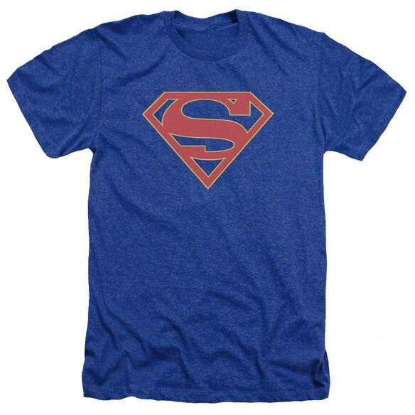 Supergirl Logo Adult Heather Royal