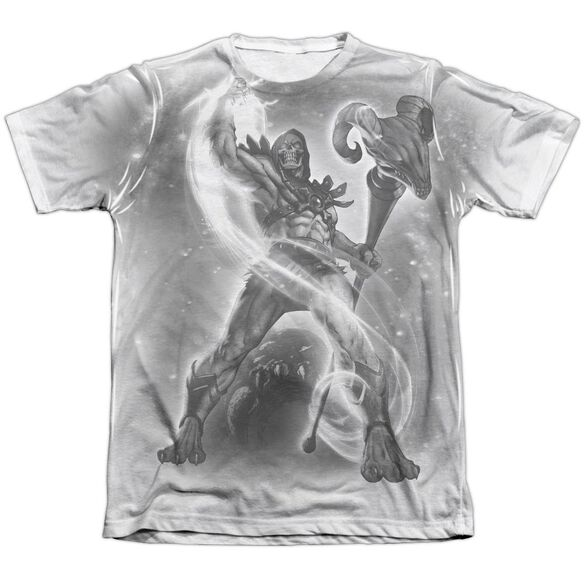 Masters Of The Universe Skeletor B&W Adult Poly Cotton Short Sleeve Tee T-Shirt