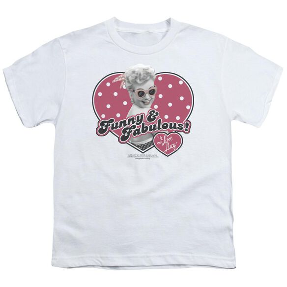Lucy Funny & Fabulous Short Sleeve Youth T-Shirt