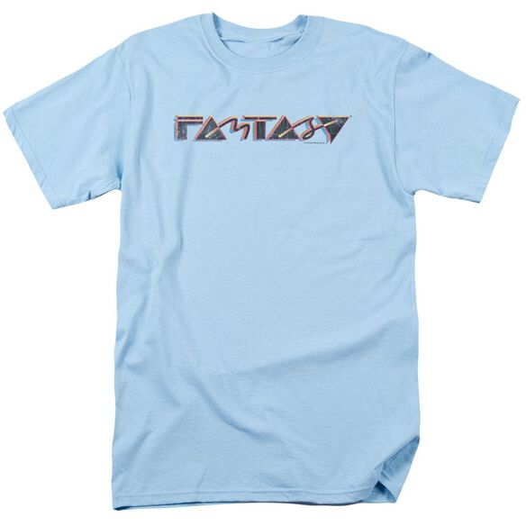 Fantasy Fantasy 80 S Short Sleeve Adult Light Blue T-Shirt