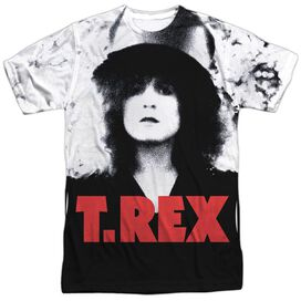 T Rex The Slider Cover Short Sleeve Adult Poly Crew T-Shirt