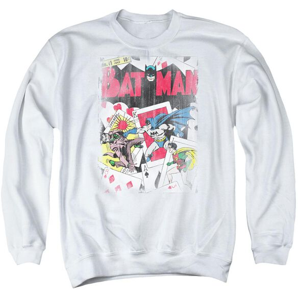 Dc Number 11 Distressed Adult Crewneck Sweatshirt