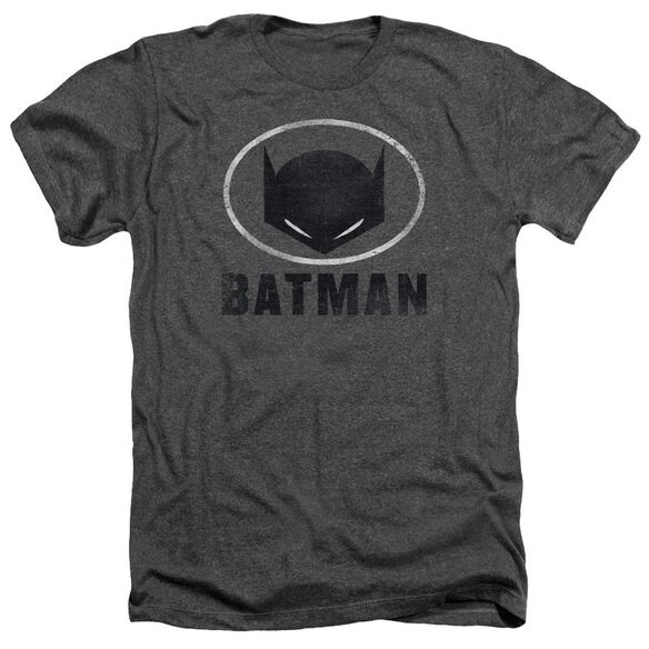 Batman Mask In Oval Adult Heather