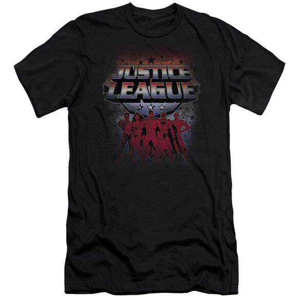 Jla Star League Short Sleeve Adult T-Shirt