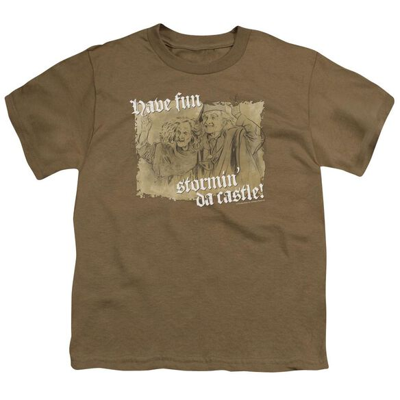 Princess Bride Stormin Da Castle Short Sleeve Youth Safari T-Shirt
