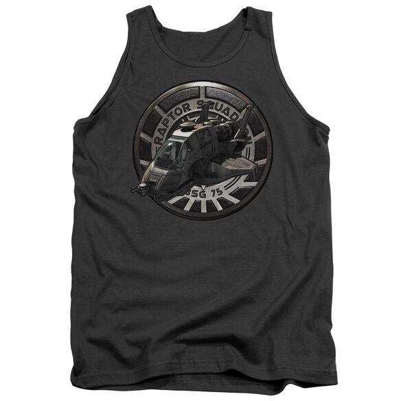 Bsg Raptor Squadron - Adult Tank - Charcoal