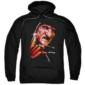 Nightmare On Elm Street Freddys Face Adult Pull Over Hoodie