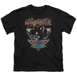 Aerosmith Triangle Stars Short Sleeve Youth T-Shirt