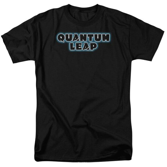 Quantum Leap Logo Short Sleeve Adult T-Shirt
