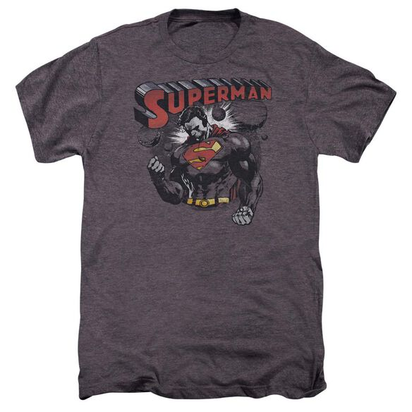 Superman Super Ko Short Sleeve Adult Premium Tee Moth T-Shirt
