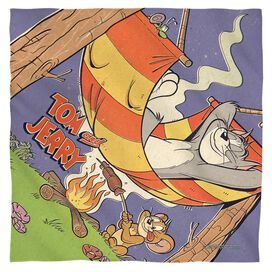 Tom And Jerry Rest And Relaxation Bandana