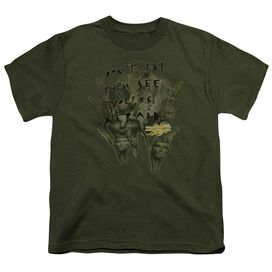 Mirrormask Don't Let Them Short Sleeve Youth Military T-Shirt