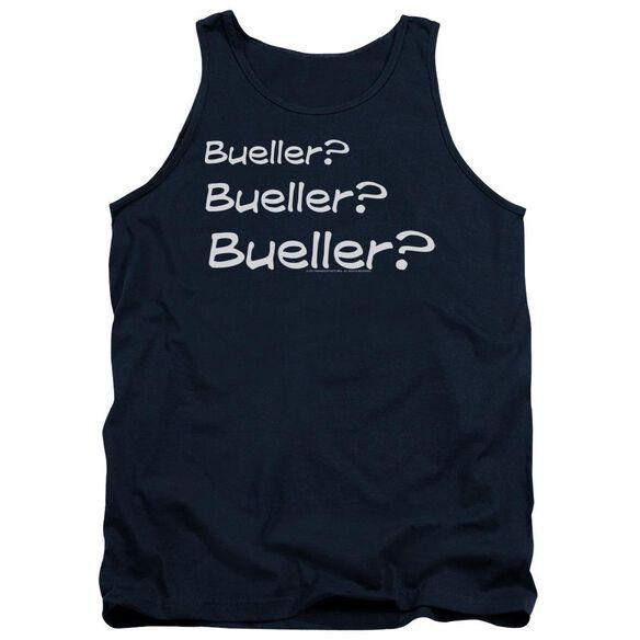 Ferris Bueller Bueller? Adult Tank