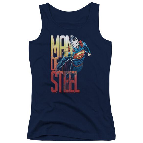 Superman Steel Flight Juniors Tank Top
