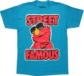 Sesame Street Street Famous Elmo T-Shirt