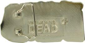 Walking Dead Comic Logo Belt Buckle