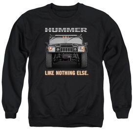 Hummer Like Nothing Else Adult Crewneck Sweatshirt