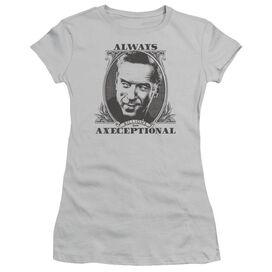 Billions Axeceptional Short Sleeve Junior Sheer T-Shirt