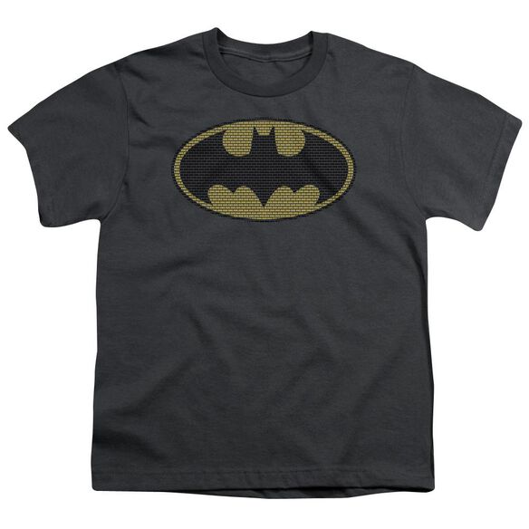 Batman Little Logos Short Sleeve Youth T-Shirt