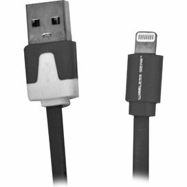 Wireless Gear Lightning-USB Cable [3.2 FT] [Black]