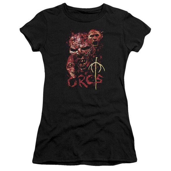 Lor Orcs Short Sleeve Junior Sheer T-Shirt