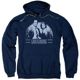 Law And Order Svu Elliot And Olivia Adult Pull Over Hoodie