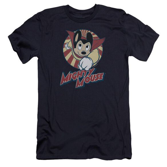 Mighty Mouse The One The Only Premuim Canvas Adult Slim Fit