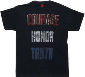 Flag Courage Honor Truth T-Shirt