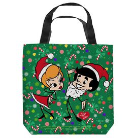 I Love Lucy Holiday Dance Tote