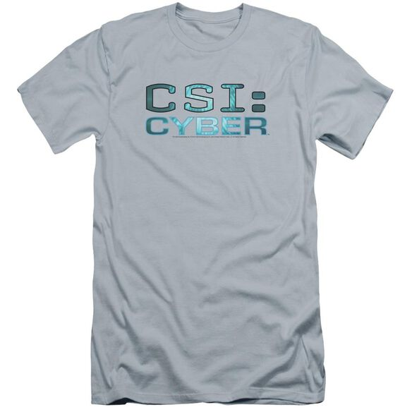 Csi: Cyber Cyber Logo Premuim Canvas Adult Slim Fit Light