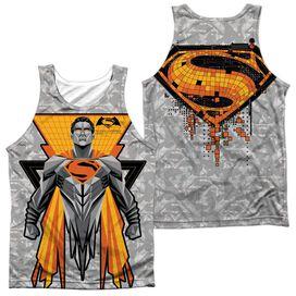 Batman V Superman Super Tech Sub (Front Back Print) Adult Poly Tank Top
