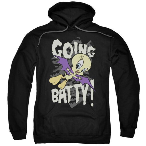 Looney Tunes Going Batty Adult Pull Over Hoodie