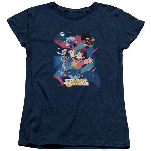 Steven Universe Group Shot Short Sleeve Womens Tee T-Shirt