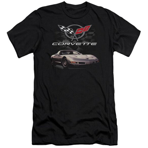 Chevrolet Checkered Past Short Sleeve Adult T-Shirt