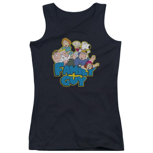 Family Guy Family Fight Juniors Tank Top
