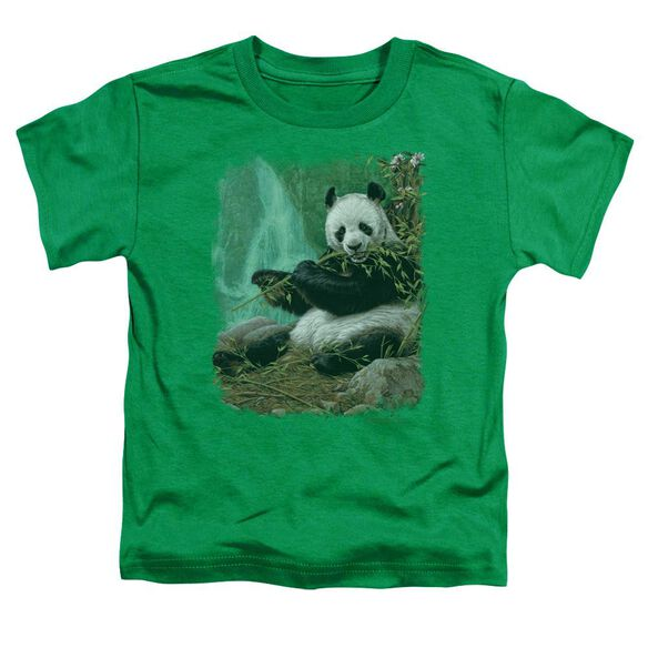 Wildlife Citizen Of Heaven On Earth Short Sleeve Toddler Tee Kelly Green T-Shirt