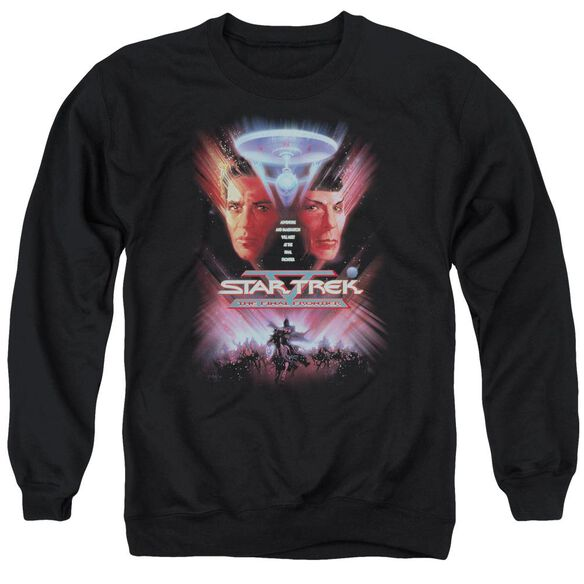 Star Trek The Final Frontier(Movie) Adult Crewneck Sweatshirt