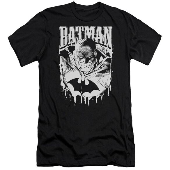 Batman Bat Metal Short Sleeve Adult T-Shirt