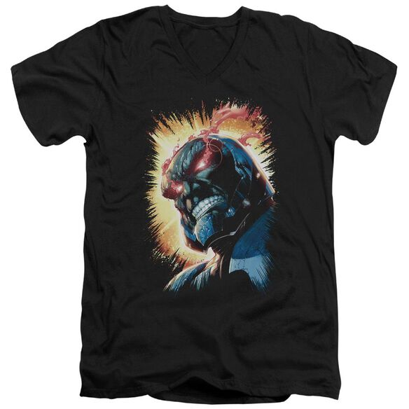 Jla Darkseid Is Short Sleeve Adult V Neck T-Shirt