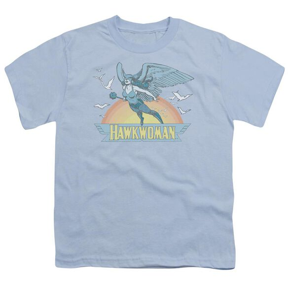 Dc Hawkwoman Short Sleeve Youth Light T-Shirt