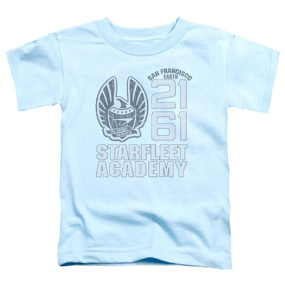 Star Trek 2161 Short Sleeve Toddler Tee Carolina Blue Lg T-Shirt