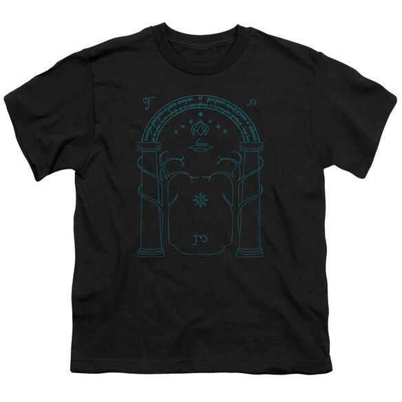 Lord Of The Rings Doors Of Durin Short Sleeve Youth T-Shirt