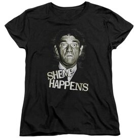 Three Stooges Shemp Happens Short Sleeve Womens Tee T-Shirt
