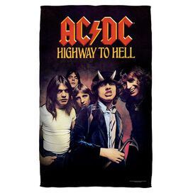 Acdc Highway Towel White