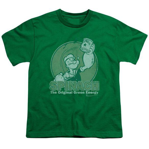 Popeye Energy Short Sleeve Youth Kelly T-Shirt