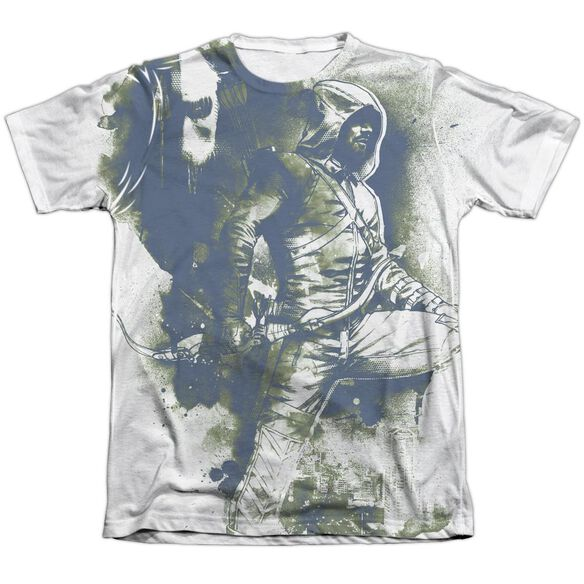 Arrow Spray Paint Adult Poly Cotton Short Sleeve Tee T-Shirt